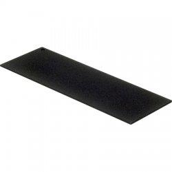 Gamber-Johnson - 3130-0155 - Gamber-Johnson 3.0 Blank Filler Panel - Steel - Black