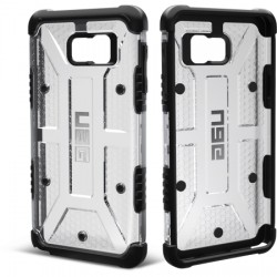 Urban Armor Gear - UAG-GLXN5-ICE-VP - Urban Armor Gear Ice Case for Galaxy Note 5 - Smartphone - Ice, Black - Rubberized