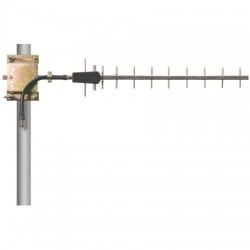 L-Com Global Connectivity - HG2412SY-NF - 2.4 GHz 12 dBi Stainless Steel Yagi Antenna - 7in N-Female