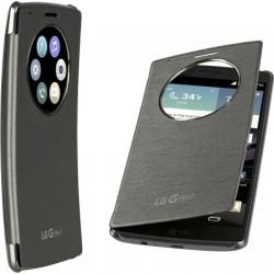 LG Electronics - CCF-620.ASPRTSI - Quick Circle Folio Case LG G Flex 2 Titan Silver