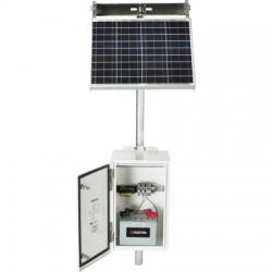 Ameresco Solar - SKM140W99AH12VDC3 - 140W/99Ah/12Vdc/3R Solar System