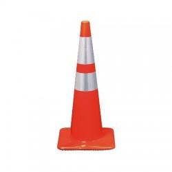 3M - 0-00-51141-398020 - 28 inch Orange Reflective Traffic Safety Cone
