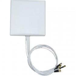 Ventev - M6060060P3D63607V - 2.4/5GHz 6dbi 6 Lead Patch w/N Plugs