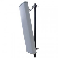 L-Com Global Connectivity - HG2416SXP-090 - 2.4 GHz 16 dBi 90 Spatial Diversity/Cross Polarized MIMO Sector Antenna