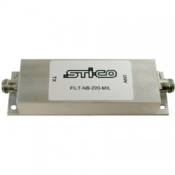STI-CO Industries - FILT-NB-160-MIL-U - 160-163 MHz Rugged Preselector Filter