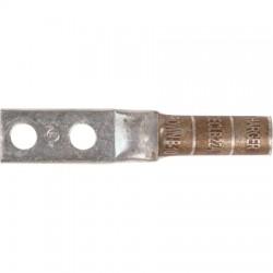 Harger - 1OFSKU471850 - #2 Str Lug w/2 1/4' holes. 1 each.
