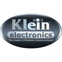 Klein Electronics - VAPOR-F-B - Push-To-Talk Ruggedized Wired Earbud in Black