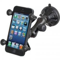 RAM Mounting Systems - RAP-B-166-2-UN7 - Twist Lock Suction Cup Mout with X-Grip Holder
