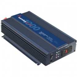 Samlex - PST100012 - Samlex - Pst100012 1000 Watt Pure Sine Wave Inverter With 2000 Watt Surge, 2 Ac Receptacles With Pin Type Battery Cable Lugs