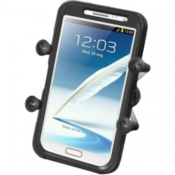 RAM Mounting Systems - RAM-HOL-UN10BU - RAM Mount X-Grip IV Large Phone/Phablet Holder with 1 Ball - 4.5 - Stainless Steel, Rubber