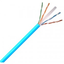 Belden / CDT - 2412F0061000 - Belden 2412F Category 6 Nonbonded-Pair ScTP Cable, Polyolefin Insulation
