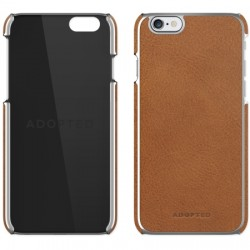 Adopted - APH13250 - Leather Wrap Case iPhone 6/6s Plus in Brown/Silver