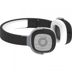 AlphaComm - APPLAUZ-WHT - Applauz Stereo Bluetooth On Ear Headphones White