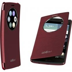 LG Electronics - CCF-620.ASPRRDI - Quick Circle Folio Case LG G Flex 2 in Burgundy