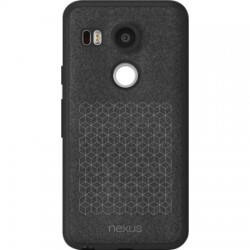 Adopted - GLE12110 - Textured MicroFiber Shell Case Nexus 5X in Quartz
