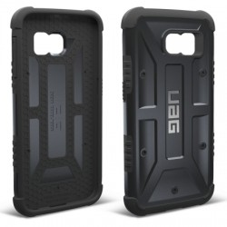 Urban Armor Gear - UAG-GLXS6-BLK-W/SCRN-VP - Urban Armor Gear Smartphone Case - Smartphone - Black - Feather Lite