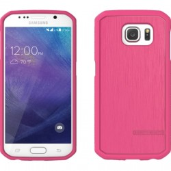 Body Glove - 9486202 - Body Glove Satin Galaxy S6 - Smartphone - Cranberry - Textured - Satin, Brushed Aluminum, High Gloss - Gel