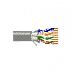 Belden / CDT - 2412F0051000 - Belden 2412F Category 6 Nonbonded-Pair ScTP Cable, Polyolefin Insulation