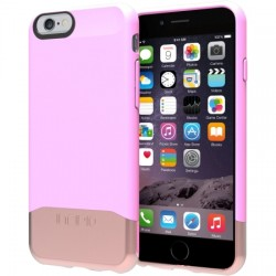 Incipio - IPH-1188-PNKRGLD - Incipio EDGE Chrome Slider Case with Chrome Finish for iPhone 6 - iPhone 6 - Pink, Rose Gold - Chrome - Polycarbonate