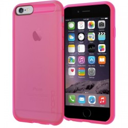Incipio - IPH-1181-NEONPNK - Incipio NGP Flexible Impact-Resistant Case for iPhone 6 - iPhone - Translucent Neon Pink - Smooth - Flex2O, Polymer