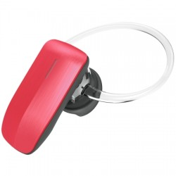 AlphaComm - C-BT245-RED - Color Burst Mini Bluetooth Headset in Liquid Red