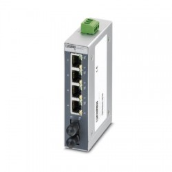 Phoenix Contact - 2891028 - Unmanaged Industrial Switch SFNB 4TX/FX ST