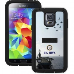 AFC Trident - CY-SSGXS5-BKK07 - Cyclops Case for Samsung Galaxy S 5 in Navy Action