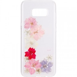 Flavr - 28689 - FLAVR iPlate Real Flower Grace Samsung Galaxy S8+