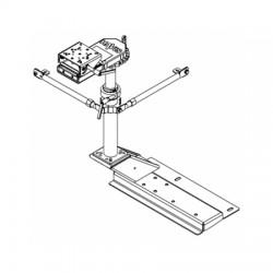 Havis - PKG-PSM-284 - 2011-2015 International 4300/7300 Bucket Seat Passenger Side Mount Package