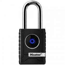 Master Lock - 4401DLH - Bluetooth Smart Padlock Outdoor Long Shackle