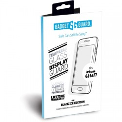 Gadget Guard - BPICAP000014 - Gadget Guard Black Ice Plus Screen Protector - LCD iPhone 7, iPhone 6, iPhone 6s