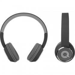 AlphaComm - C-HARMONIZE-BLK - Color Burst Harmonize BT On-Ear Headset in Black