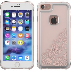 Ballistic Case - JE1738-B46N - Jewel Essence Case for iPhone 7 Whispers Rose Gold