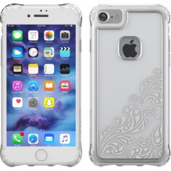 Ballistic Case - JE1738-B38N - Jewel Essence Case for iPhone 7 in Whispers Silver