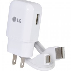 LG Electronics - PAY64349701.ACUSW - Travel Charger for LG G5/V30 Quick Charge w/Type C