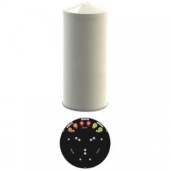 Amphenol - CUUT360X12F00D0BR - 696-960/1695-2700 Tri-Sector Cylindrical Antenna