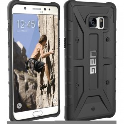 Urban Armor Gear - GLXN7-A-BK - Urban Armor Gear Black Case For Galaxy Note 7 - Smartphone - Black - Honeycomb Grip