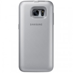 Samsung - EP-TG930BSUGUS - Charging Case for Galaxy S7 2700 mAh Silver