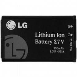 LG Electronics - PAC61700101.AETC - Standard Battery 950mAh for LG AN170 Fluid 2