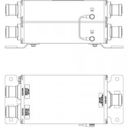 Kathrein-Scala - 782 10808 - PCS & AWS Dual Unit Combiner