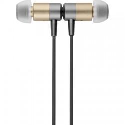 AlphaComm - MSMETALLIC-CGLD - Metallic Premium Bluetooth Earphones in Gold