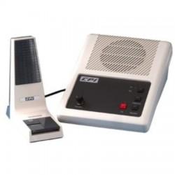 CPI Comm - 234-0003-005-BLK - DR/TR/LE20 Split-Bar Dynamic Desk Microphone, Black