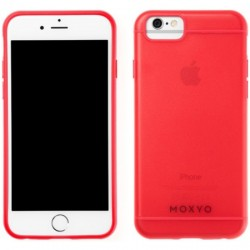 Moxyo - MCBR0-API60-9B0 - Beacon Case for Apple iPhone 6/6s in Red