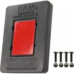 RAM Mounting Systems - RAP-300-1U - RAM Magnetic Power Plate III