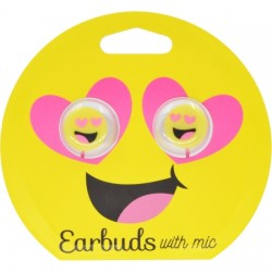 GabbaGoods - GG-CEB-HRT - Heart Eyes Emoji Headphones