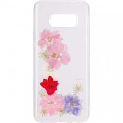 Flavr - 28688 - FLAVR iPlate Real Flower Grace Samsung Galaxy S8