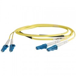 Cables Unlimited - 22D0201SM010M - 10m LC-LC Patch Cord, Single-mode, 9/125