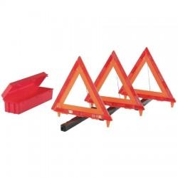 Ventev - 1EKU3 - 1EKU3 - Triangle Safety Kit, 3 triangles and case