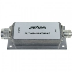 STI-CO Industries - FILT-NB-VHF-COMMF - 160-163 MHz Rugged Preselector Filter