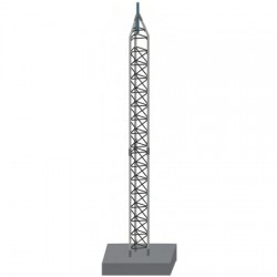 Rohn Products - 55FK-60LAB - 60FT 55G Fold Over Tower Kit